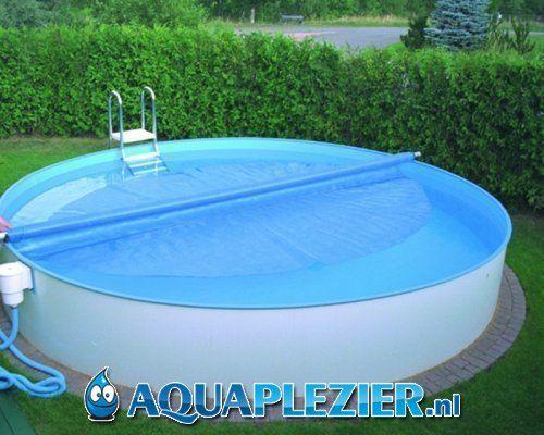 Opbouw zwembad rond liner 0 8 mm aquaplezier bv for Inbouw zwembad compleet